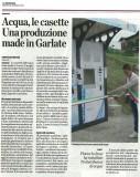 Acqua, le casette. Una produzione made in Garlate