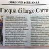 Inaugurata la casetta dell'acqua di largo Carniti